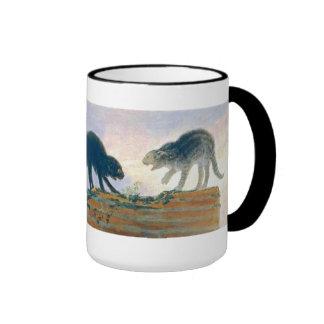 goya cats mug