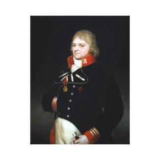 Goya Ignacio Garcini y Queralt, Brigadier Canvas Print