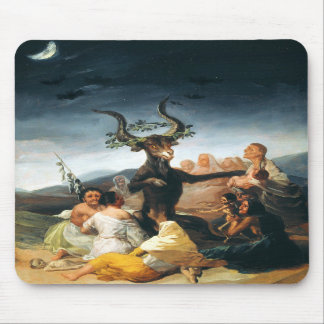 Goya Witches Sabbath Mouse Pad