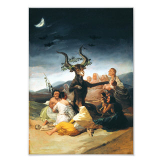 Goya Witches Sabbath Print Photograph