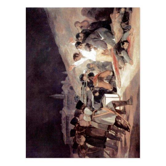 Goya y Lucientes, Francisco de Erschie?ung der Auf Postcard