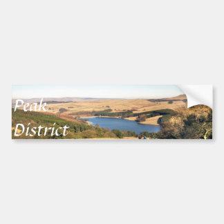 Goyt Valley, Peak District souvenir photo Bumper Sticker
