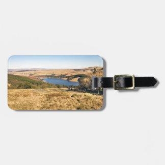 Goyt Valley, Peak District souvenir photo Luggage Tag