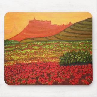 Gozo citadel view mouse pad