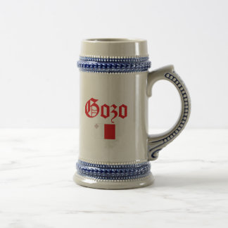 Gozo with Malta Flag Beer Stein