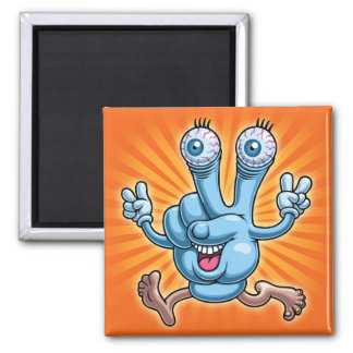 Gpeace & Glove Square Magnet