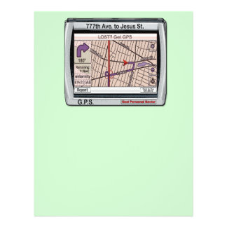 GPS God Personal Savior 21.5 Cm X 28 Cm Flyer
