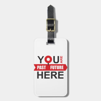 GPS of your life - locate the moment Luggage Tag