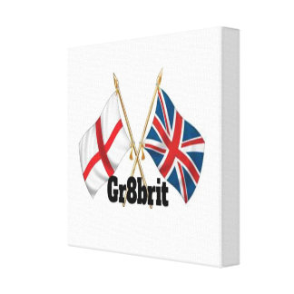 "Gr8brit Wrapped Canvas 30.5 cm x 30.5 cm (12"" x 12"