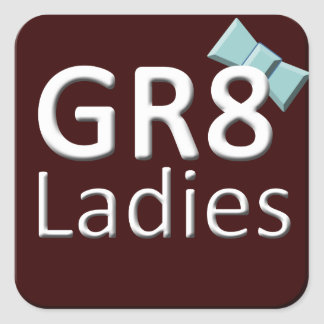 Gr8Ladies International Stickers November Logo