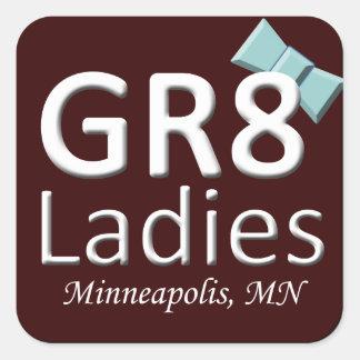 Gr8Ladies MSP Stickers November Logo