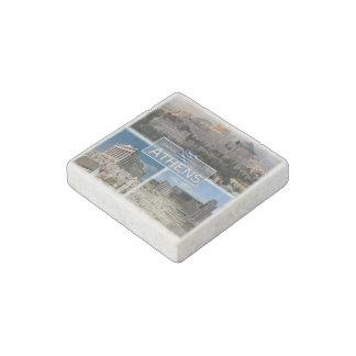GR Greece - Athens - Acropolis - Ruines - Stone Magnet