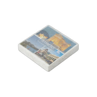 GR Greece - Athens - Parthenon - Stone Magnet