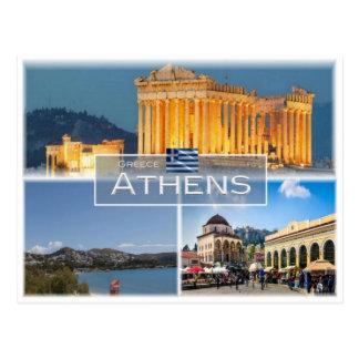 GR Greece - Athens - Postcard