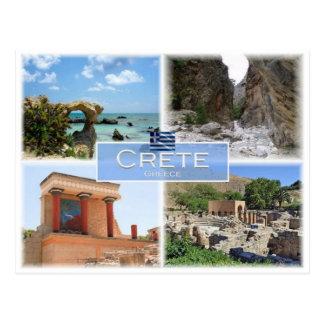 GR Greece - Crete - Postcard