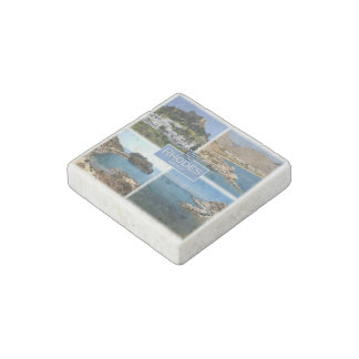 GR Greece - Rhodes - Stone Magnet