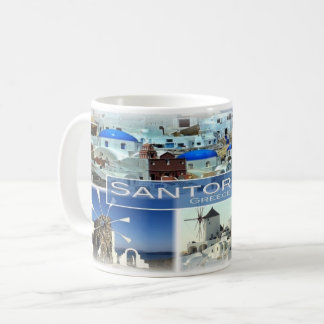 GR Greece - Santorini - Coffee Mug