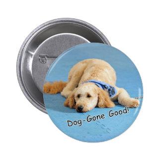 Gra Nola Dog-gone Good Pinback Buttons