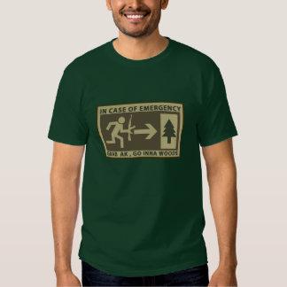 Grab Ak, Go Inna Woods T-shirts