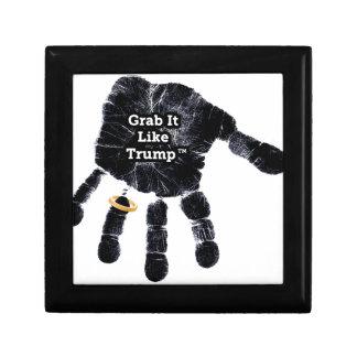 Grab It Like Trump Handprint With Ring Gift Box