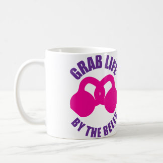 Grab Life by The Bells - Kettlebell Coffee Mug