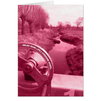 grab your life's steering wheel digital photo card
