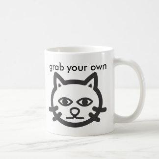 grab your own pussy coffee mug