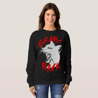 Grabs Back Dark Women's Basic Sweatshirt