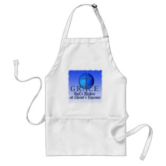 GRACE ACRONYM -GOD'S RICHES AT CHRIST'S EXPENSE STANDARD APRON
