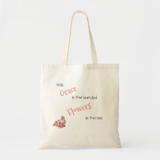 Grace and Flowers Tote
