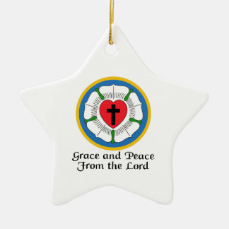 GRACE AND PEACE ORNAMENTS
