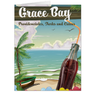 Grace Bay, Providenciales, Turks and Caicos Travel Card