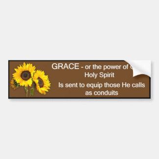 Grace - Bumper Sticker