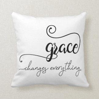 Grace Changes Everything Pillow