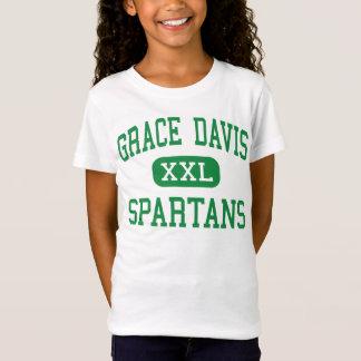 Grace Davis - Spartans - High - Modesto California T-Shirt