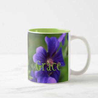 'Grace' Flower Mug