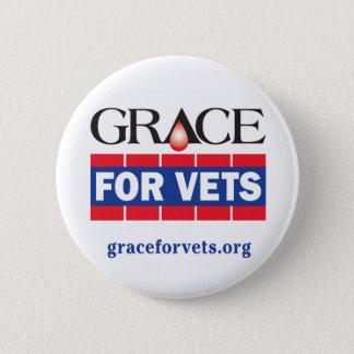 Grace For Vets 6 Cm Round Badge