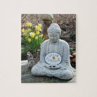 Grace Happens Buddha Puzzle