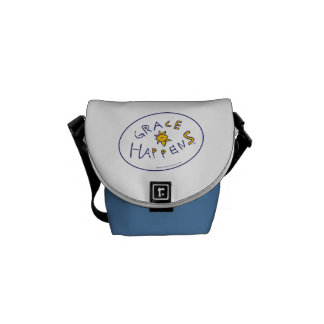 Grace Happens Messenger Bag