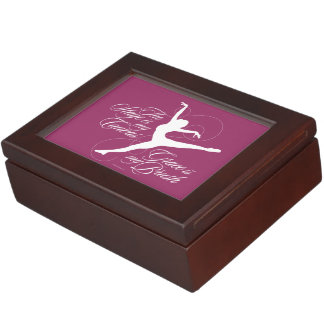 Grace Is My Brush (Dance) Keepsake Box