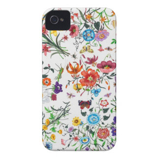 grace Kelly Designer Floral Scarf Iphone case iPhone 4 Cases