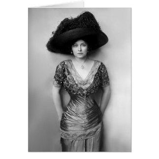 Grace La Rue Circa 1900s Card