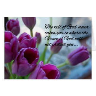 Grace Of God Greeting card