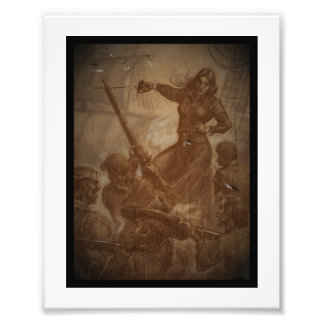Grace O'Malley Pirate Queen Photo Print