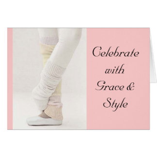 Grace & Style Greeting Card