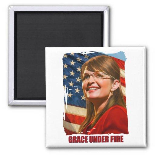 Grace Under Fire Magnet