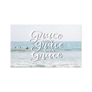 Grace Upon Grace Canvas Print