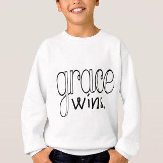 Grace Wins (Black) Sweatshirt