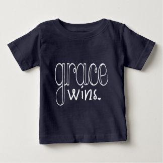 Grace Wins (White) Baby T-Shirt