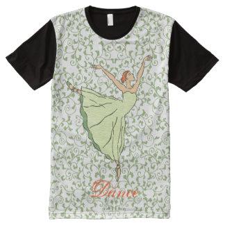 Graceful Ballerina All-Over Print T-Shirt